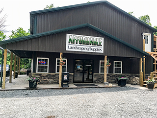 Affordable Landscaping Supplies New Facility