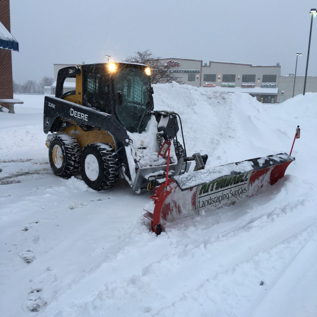 Affordable Landscaping Supplies Snow Plowing